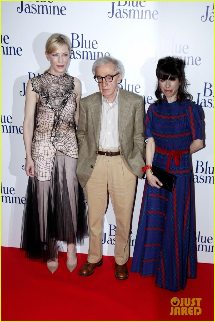 cate blanchett blue jasmine paris premiere with woody allen 092939289