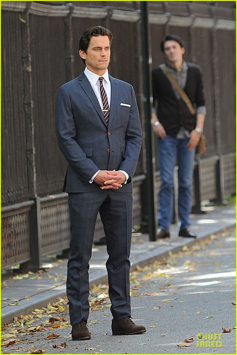 matt bomer white collar scenes with willie garson 032930192