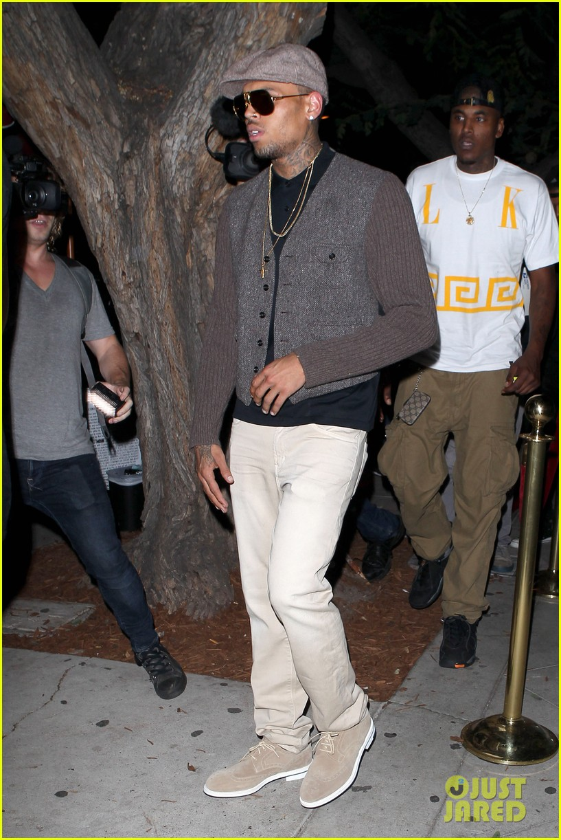 chris brown celebrates after hit run case dismissal 042931289