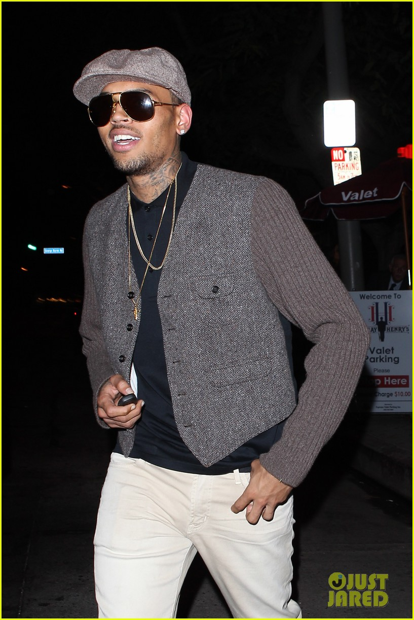 chris brown celebrates after hit run case dismissal 05