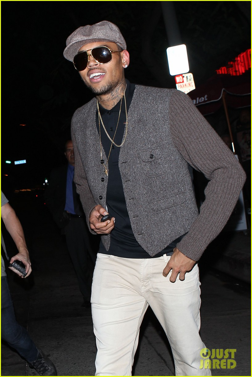 chris brown celebrates after hit run case dismissal 072931292