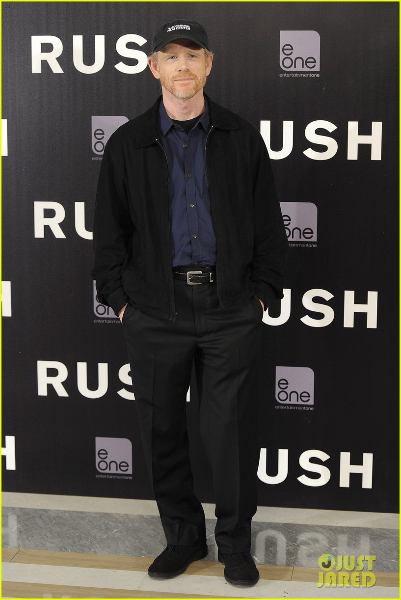 daniel bruhl rush madrid photo call with ron howard 092933499