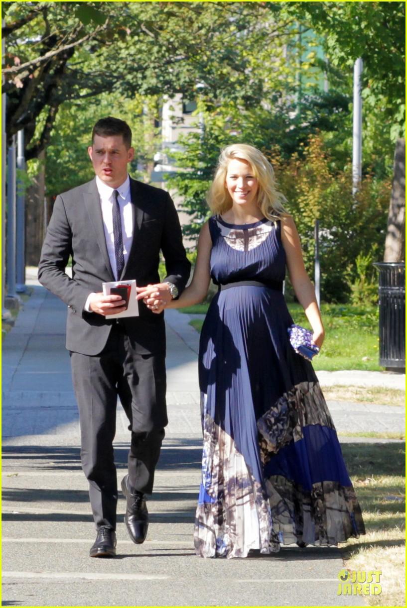 michael buble lusiana lopilato vancouver wedding couple 032928956