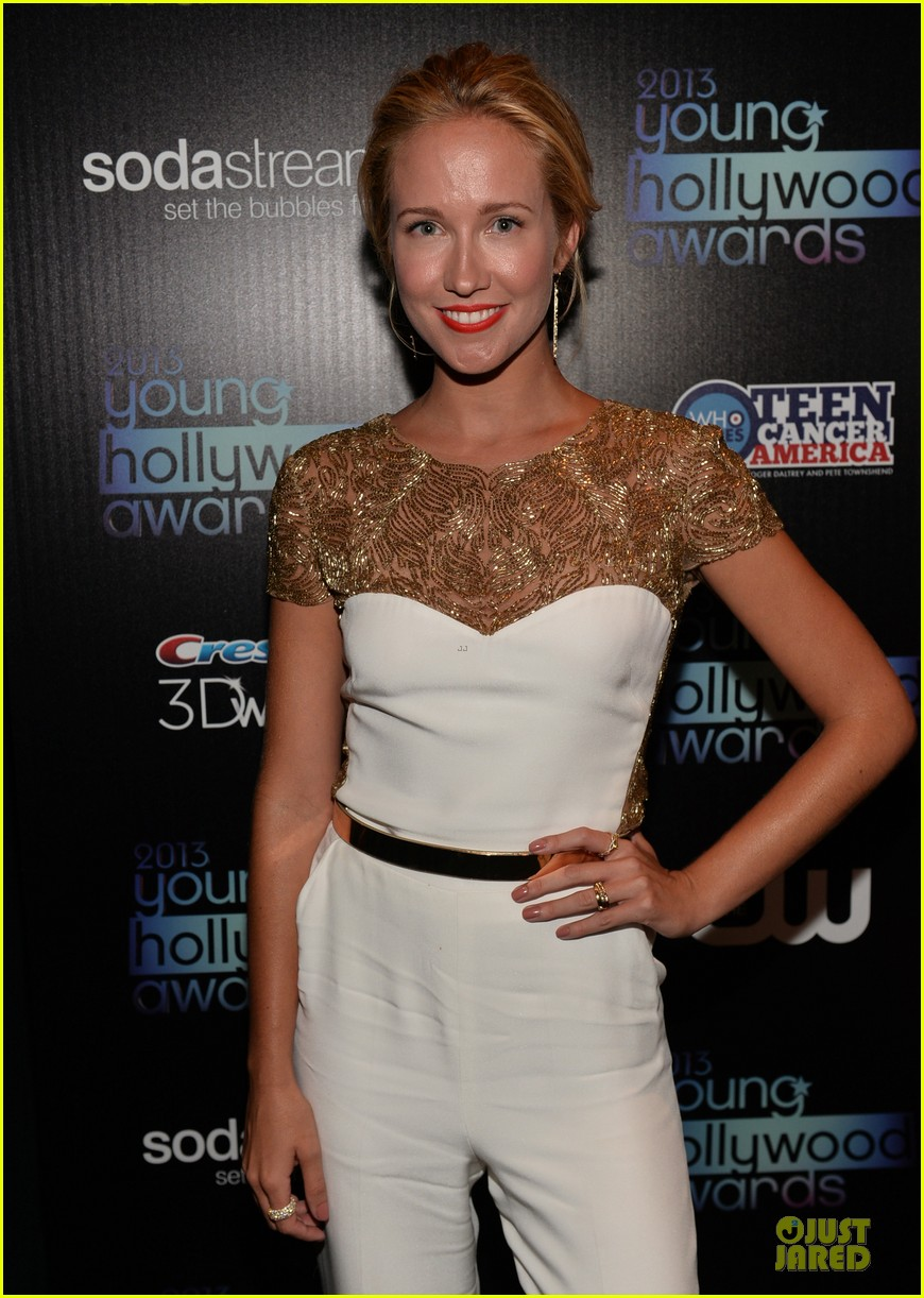 anna camp michael mcmillian at young hollywood awards 09