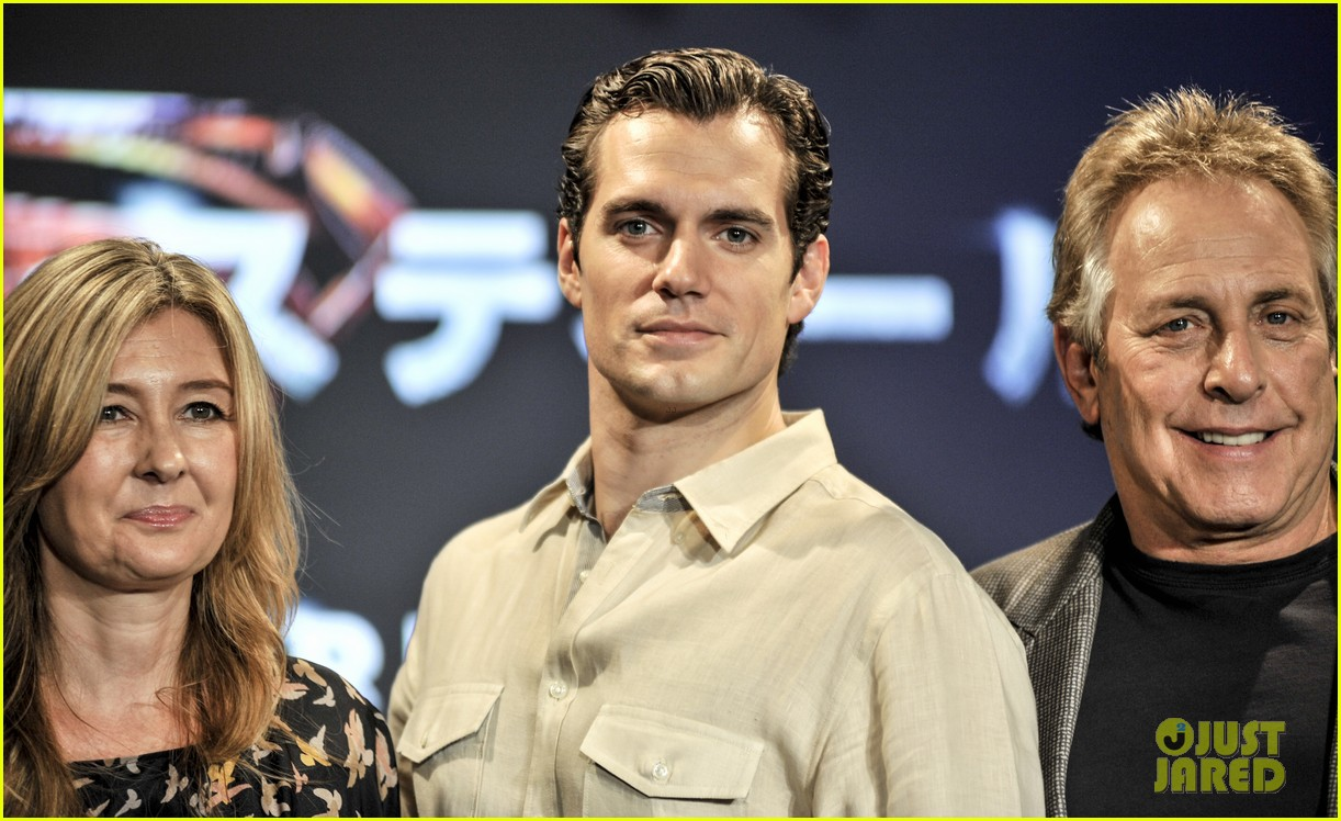 henry cavill man of steel japan press conference 07