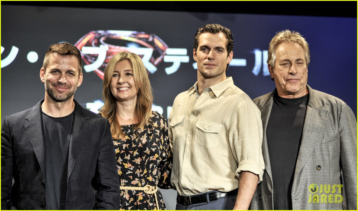 henry cavill man of steel japan press conference 102935229