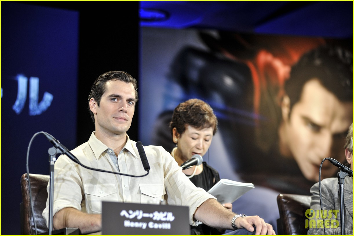 henry cavill man of steel japan press conference 122935231