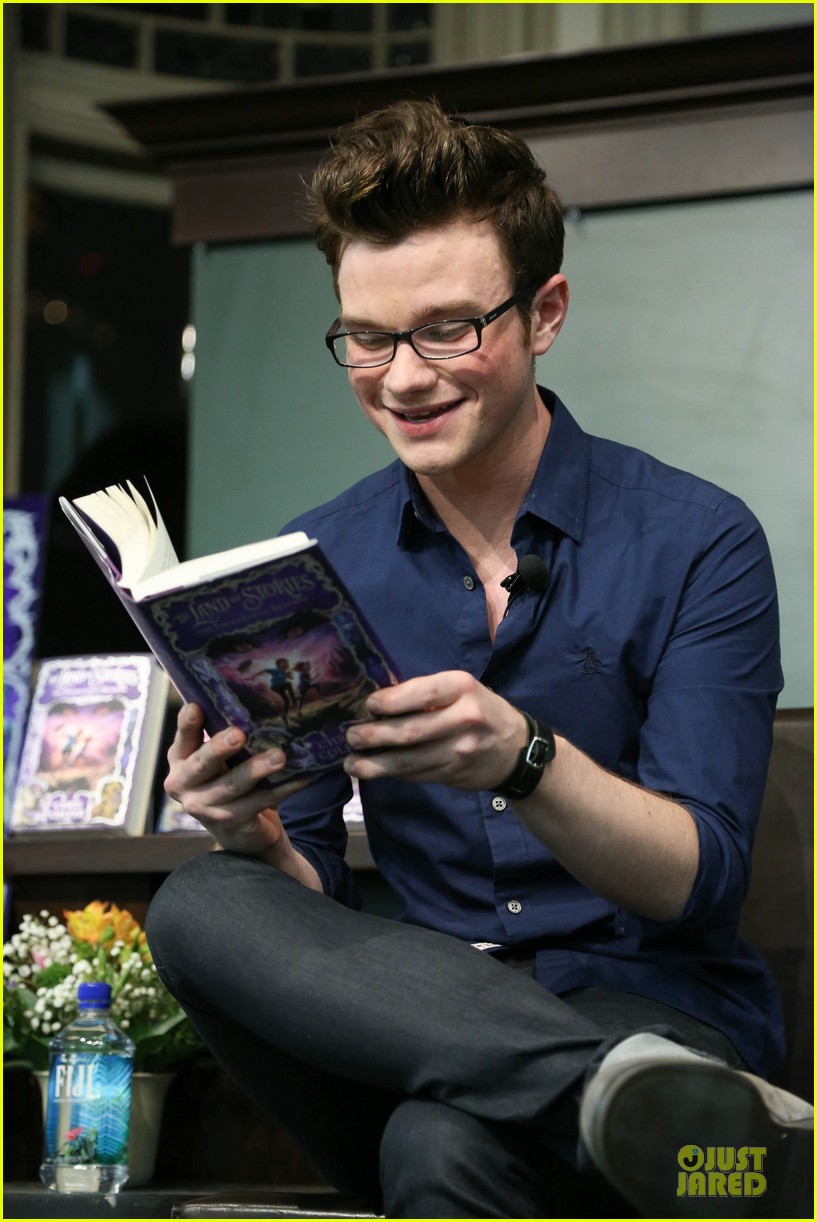 chris colfer land of stories the enchantress returns book event 132924685