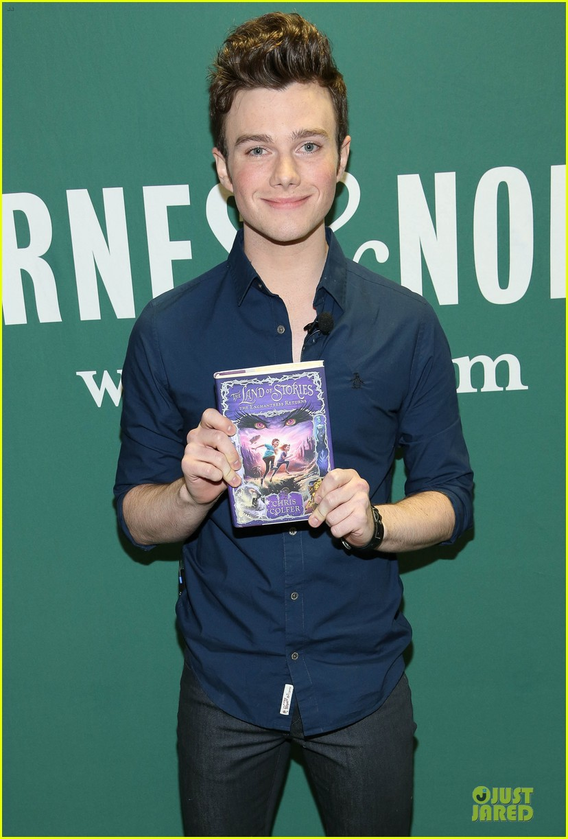 chris colfer land of stories the enchantress returns book event 162924688