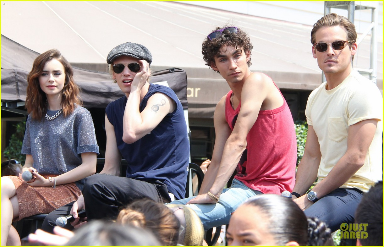 lily collins jamie campbell bower bower are very close despite split 062929792