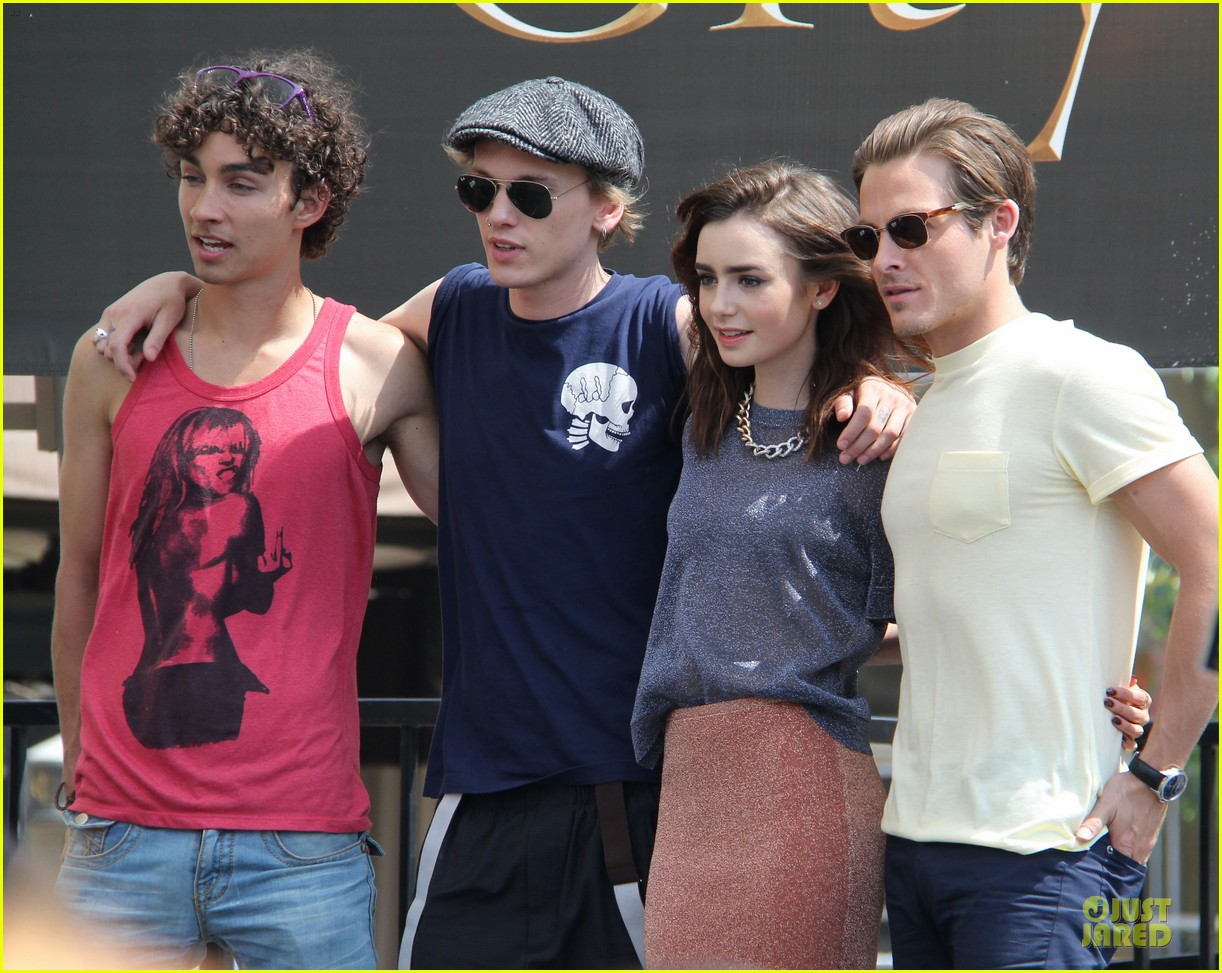 lily collins jamie campbell bower bower are very close despite split 262929812