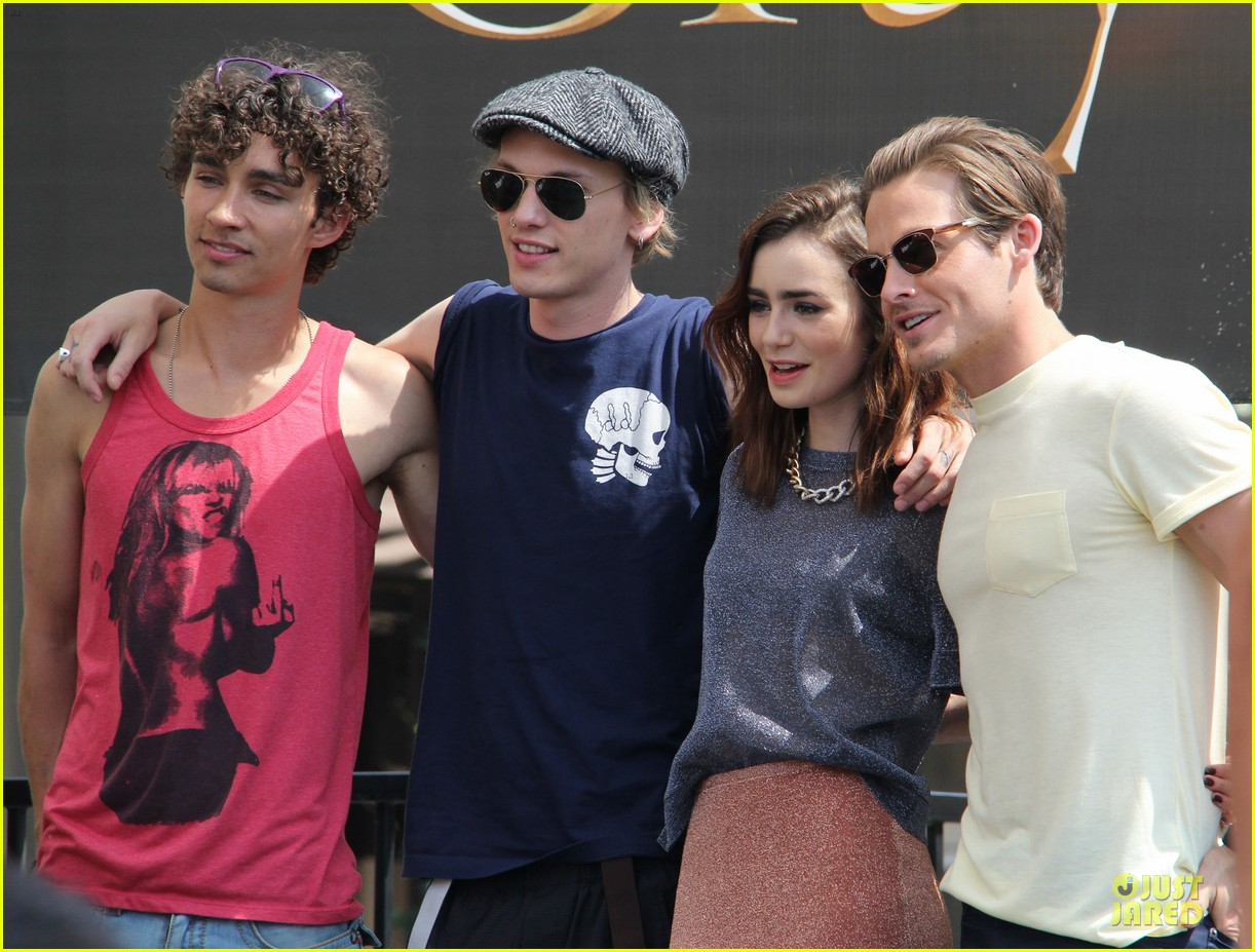 lily collins jamie campbell bower bower are very close despite split 272929813