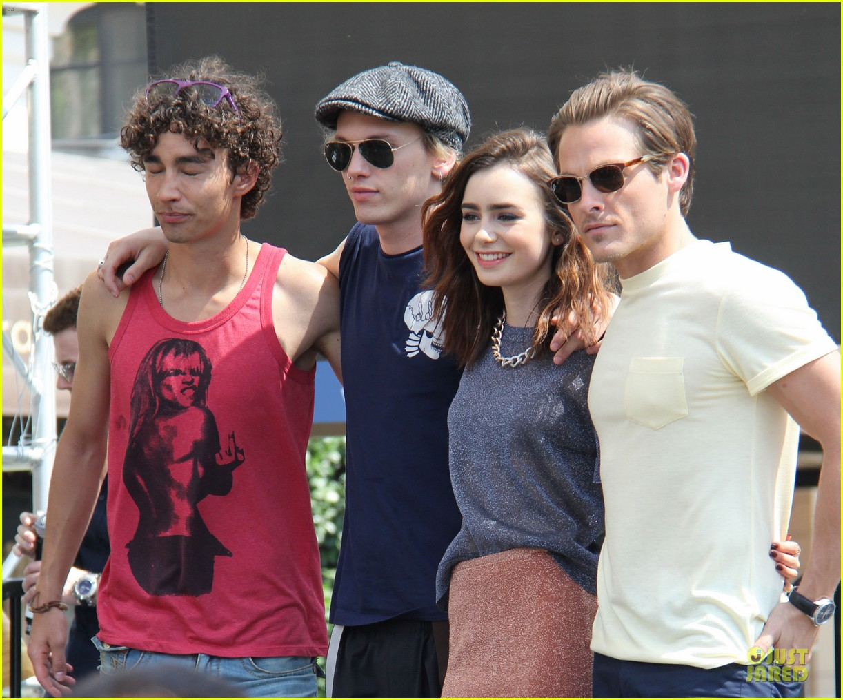 lily collins jamie campbell bower bower are very close despite split 282929814