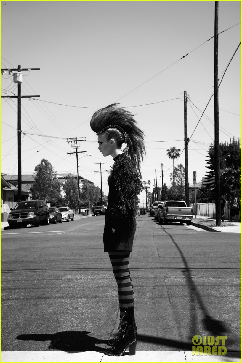 lily collins covers flaunt magazine with striking new look 062935666