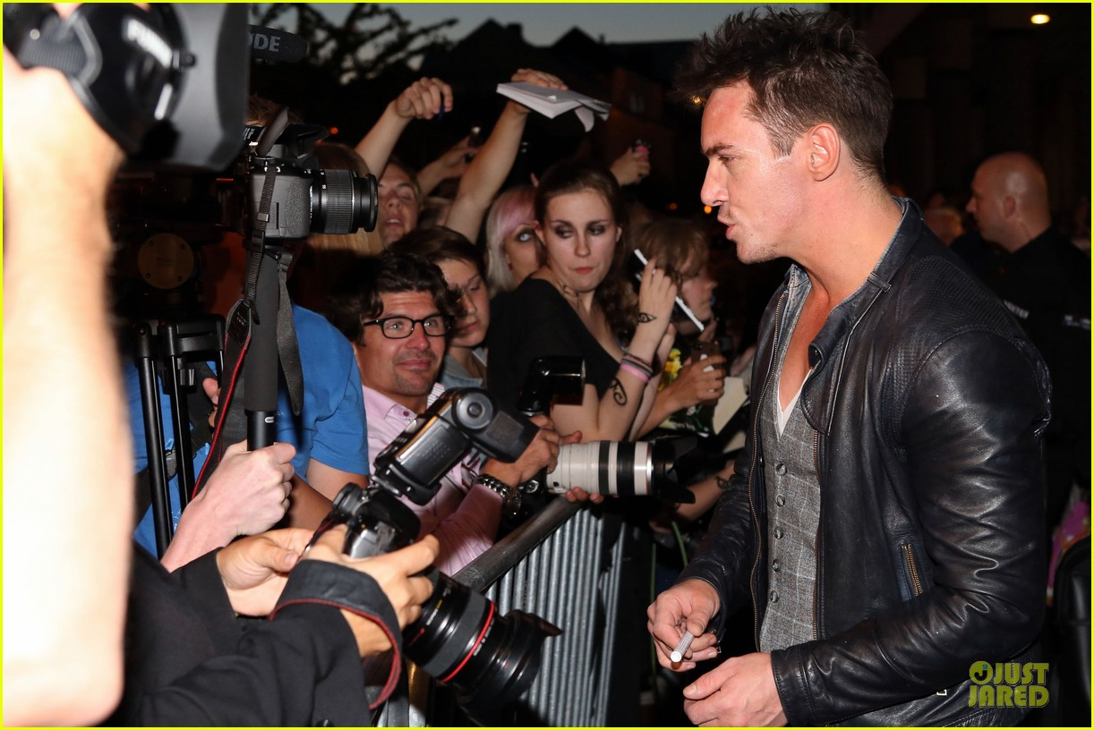 lily collins jonathan rhys meyers city of bones norway premiere 152936673