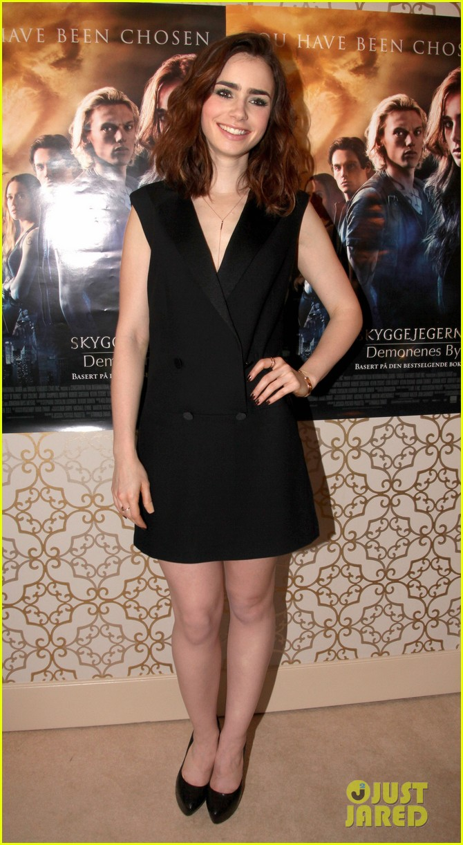 lily collins mortal instruments norway photo call 042936190