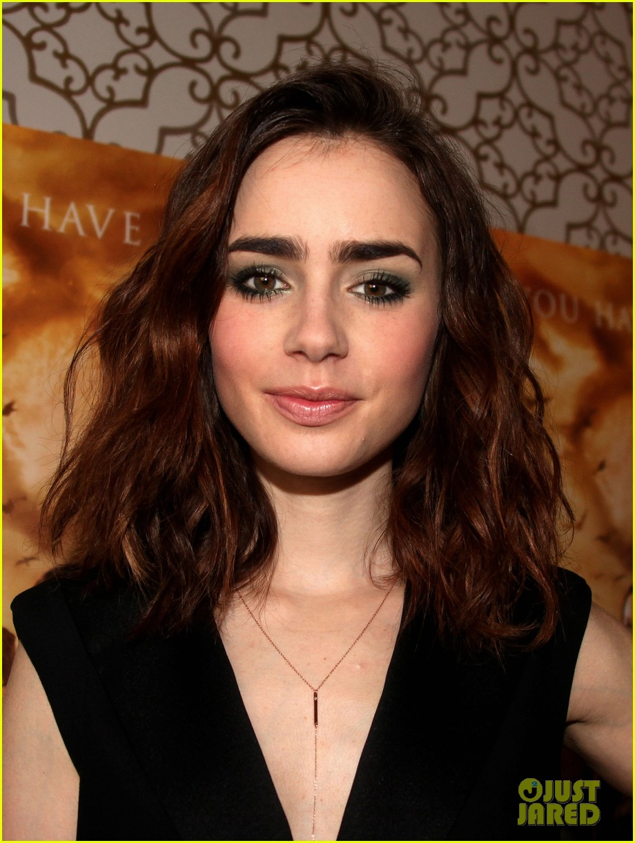 lily collins mortal instruments norway photo call 082936194
