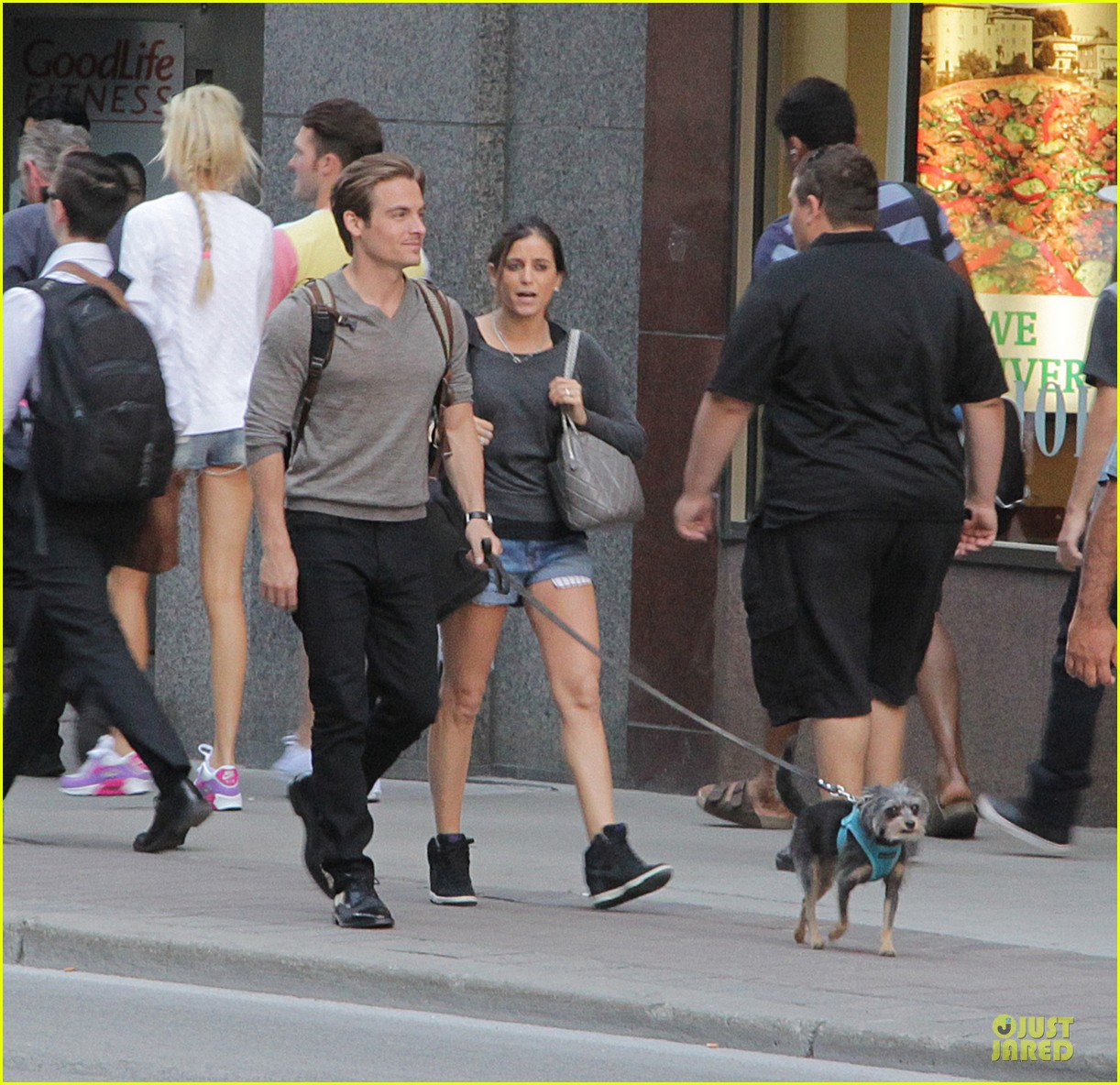 lily collins sheer diner with kevin zegers jaime feld 052931947