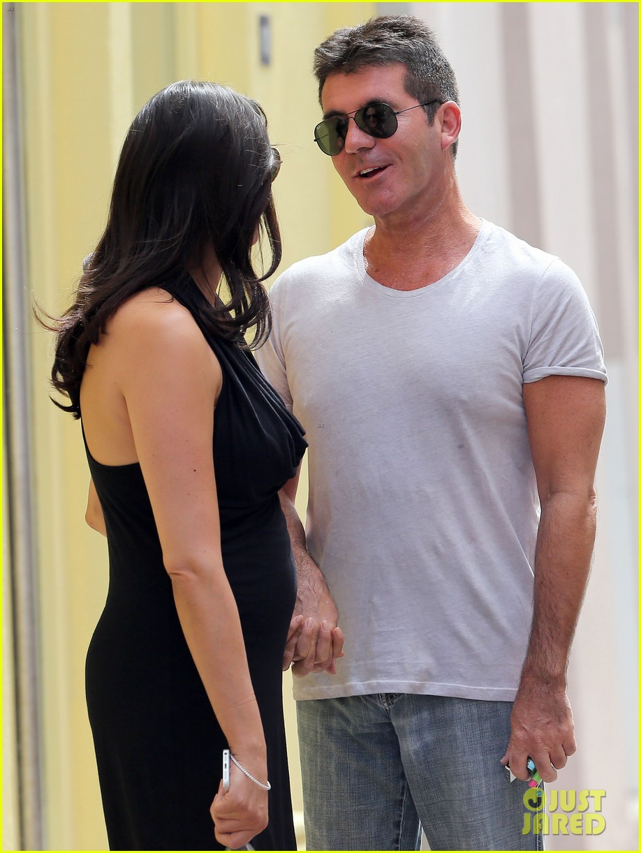 simon cowell lauren silverman hold hands in st tropez 022938274