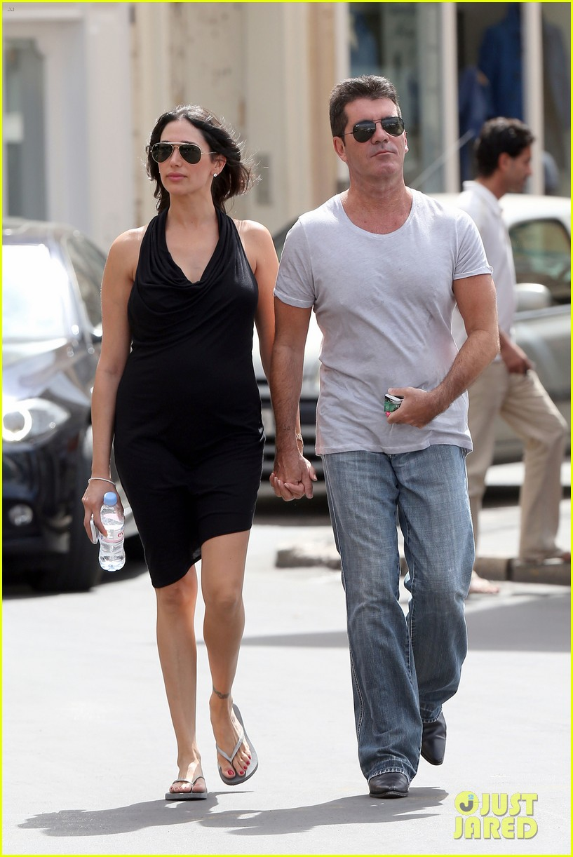 simon cowell lauren silverman hold hands in st tropez 052938277