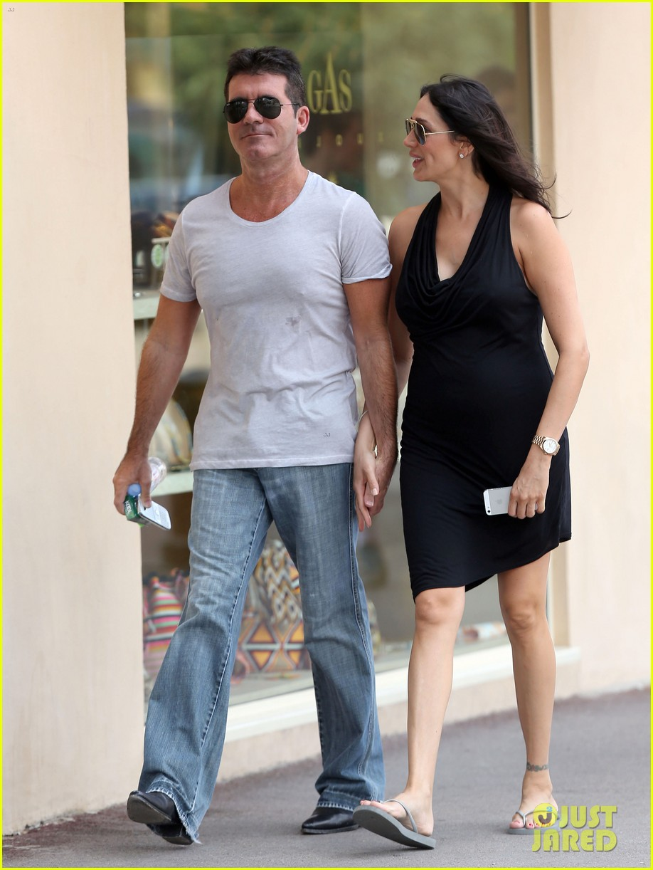 simon cowell lauren silverman hold hands in st tropez 092938281
