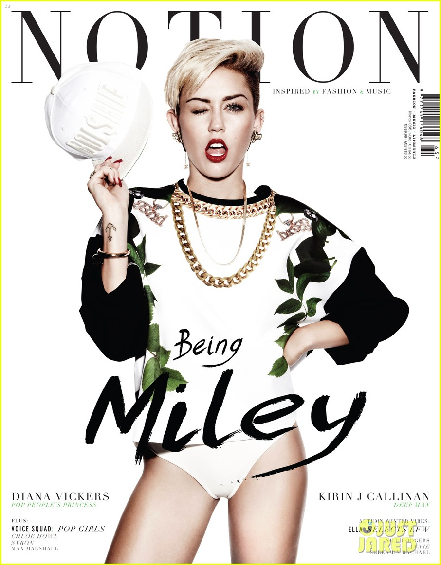 miley cyrus covers notion magazine dual covers 022940417