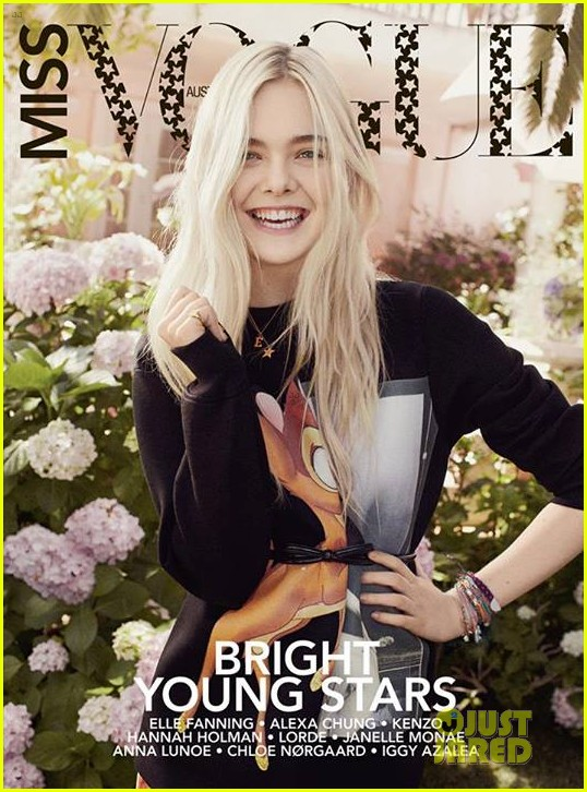 dakota fanning elle covers first miss vogue australia issue 052939222