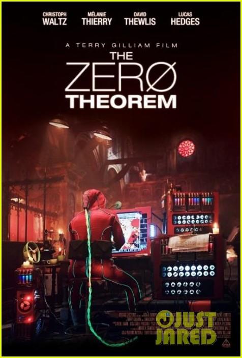 matt damon zero theorum poster 032935549