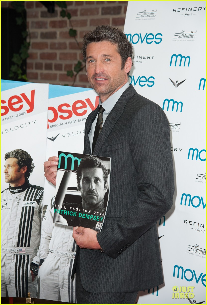 patrick dempsey moves fall fashion issue cover party 012938683