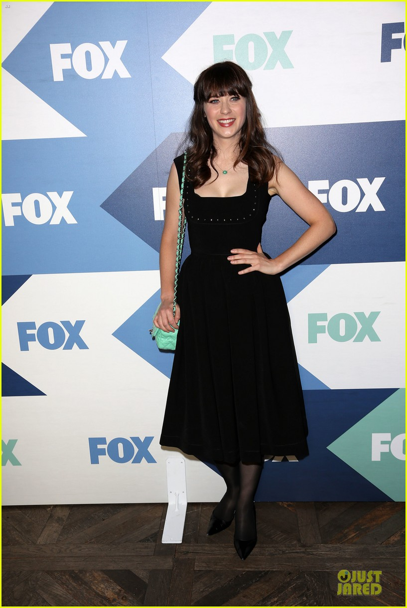 zooey deschanel new girl cast fox tca summer party 01