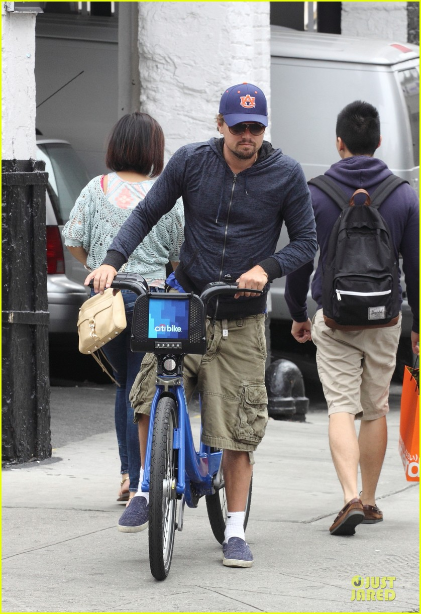 leonardo dicaprio low key china town bike ride 032933746
