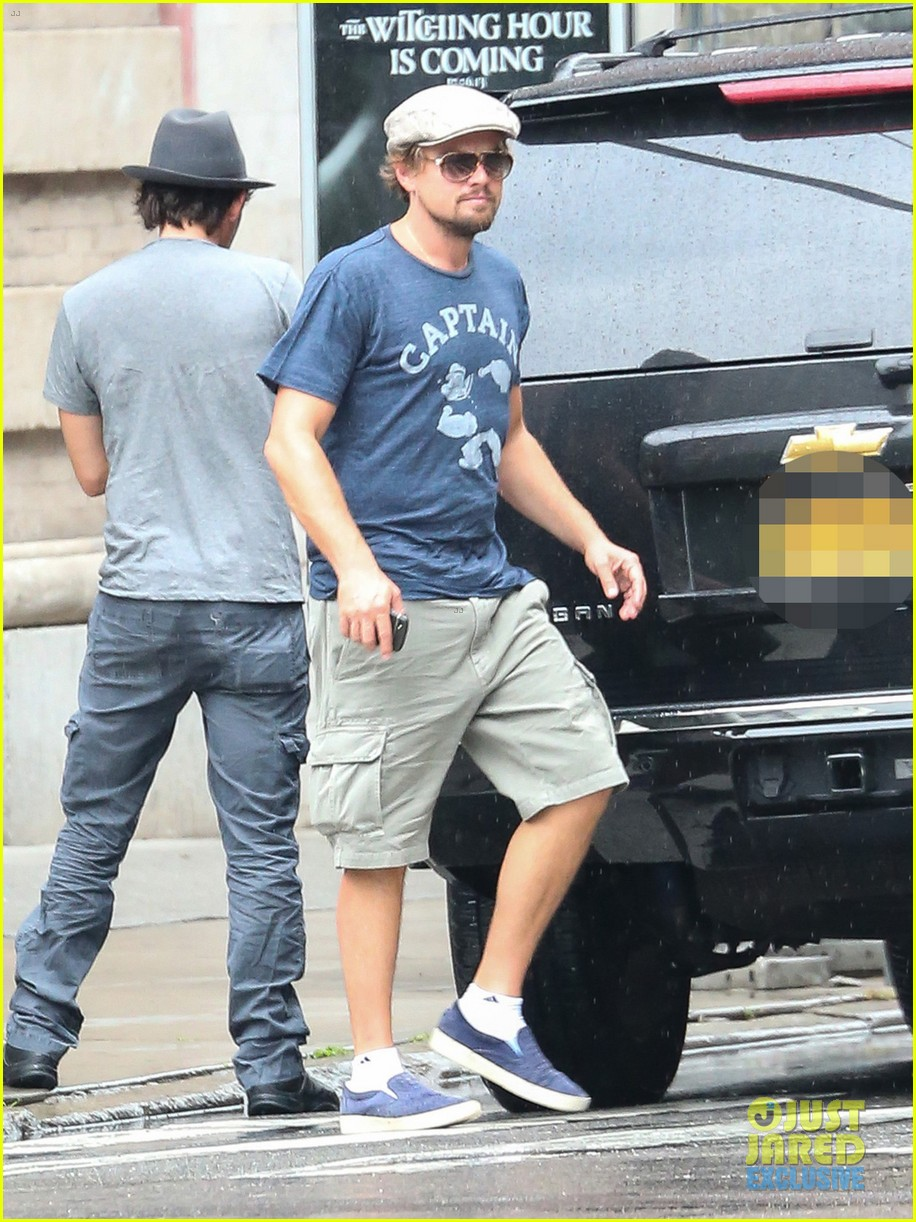 leonardo dicaprio steps out after great gatsby dvd release 022939771