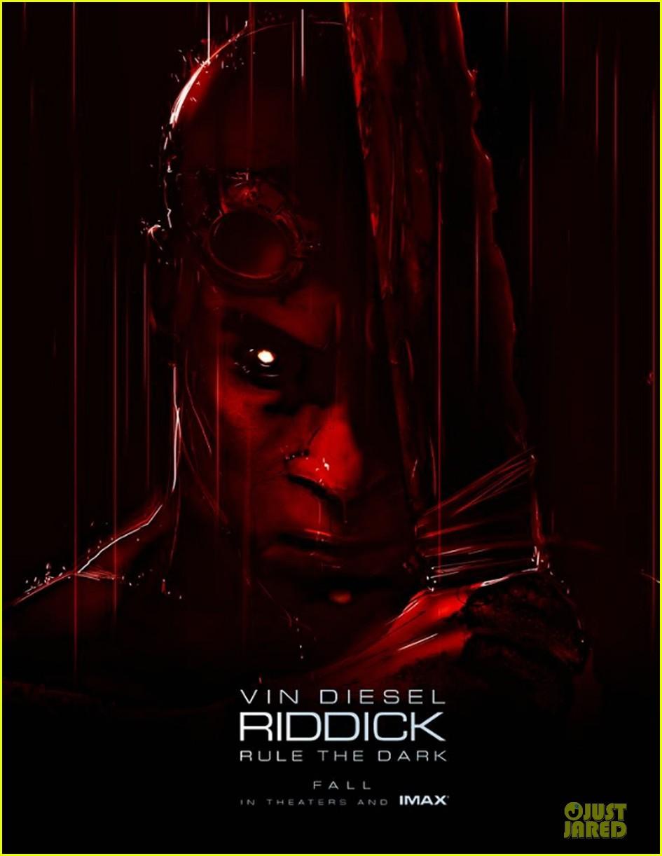vin diesel riddick poster official trailer 062922478