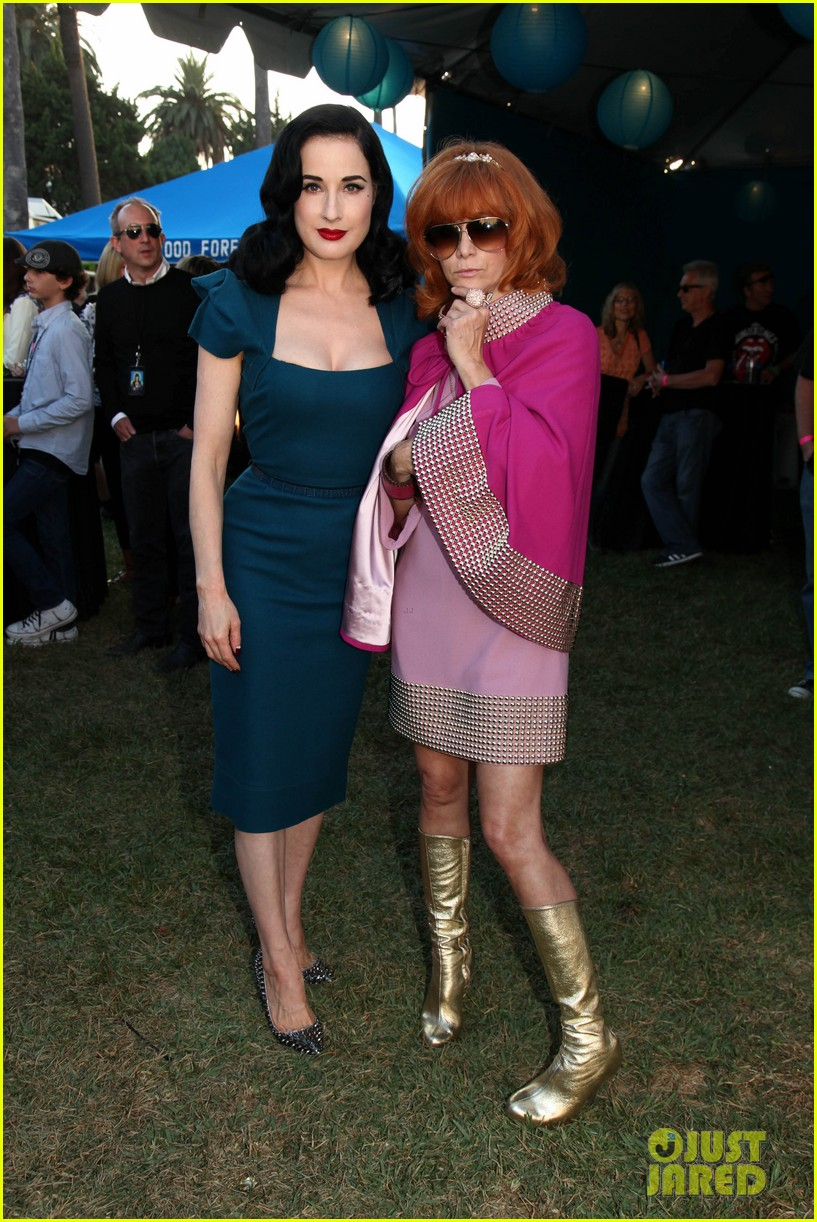 dita von teese johnny ramone tribute 26