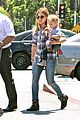 hilary duff mike comrie start weekend with groceries 10