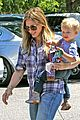 hilary duff mike comrie start weekend with groceries 11