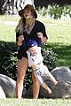 hilary duff mike comrie park day with luca 18