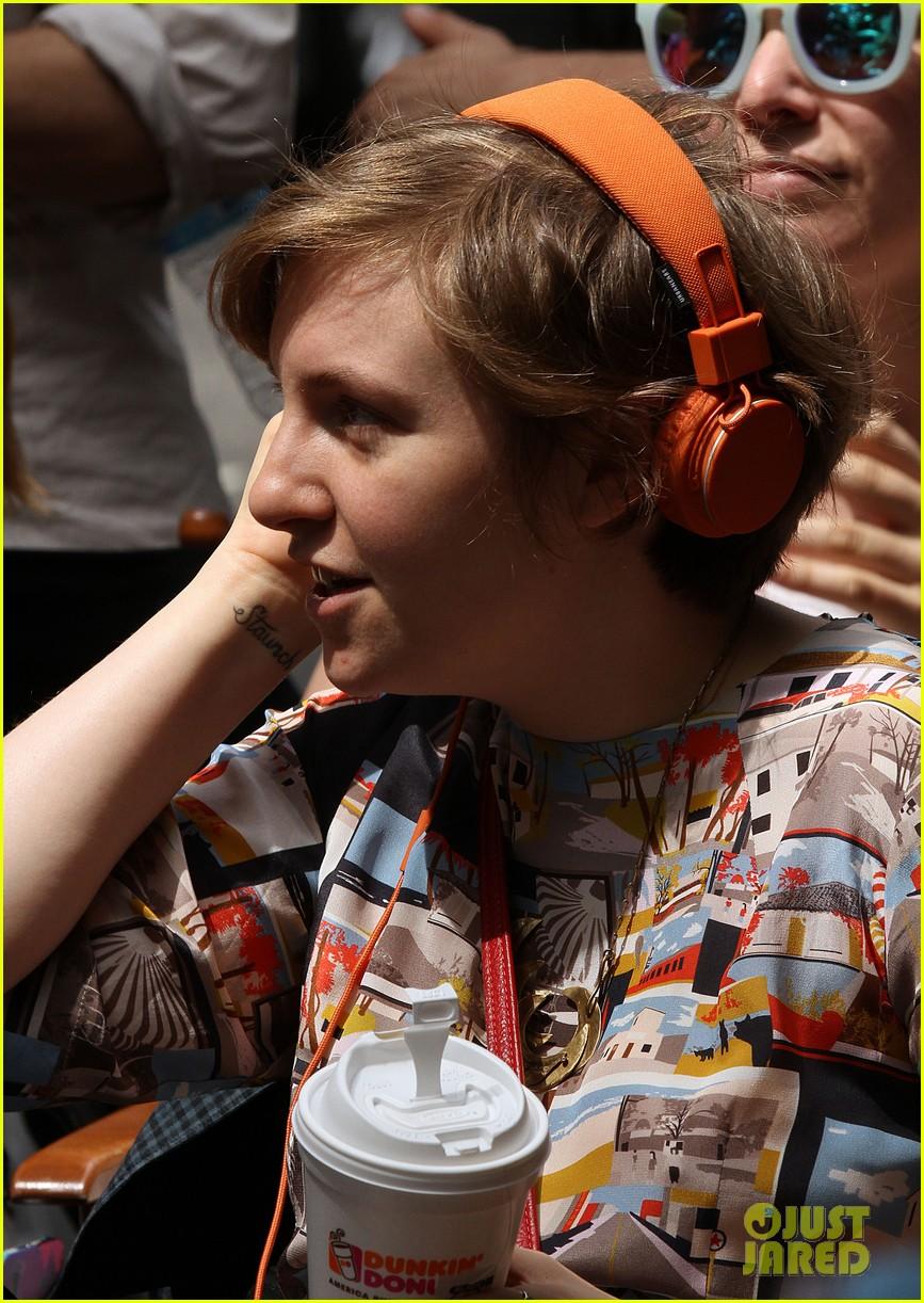 lena dunham allison williams film girls the big apple 142921490