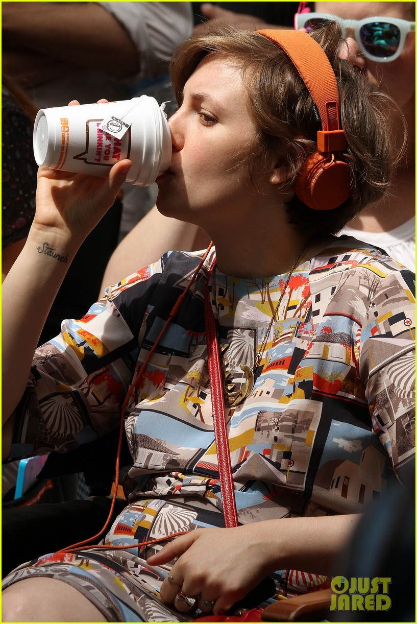 lena dunham allison williams film girls the big apple 152921491