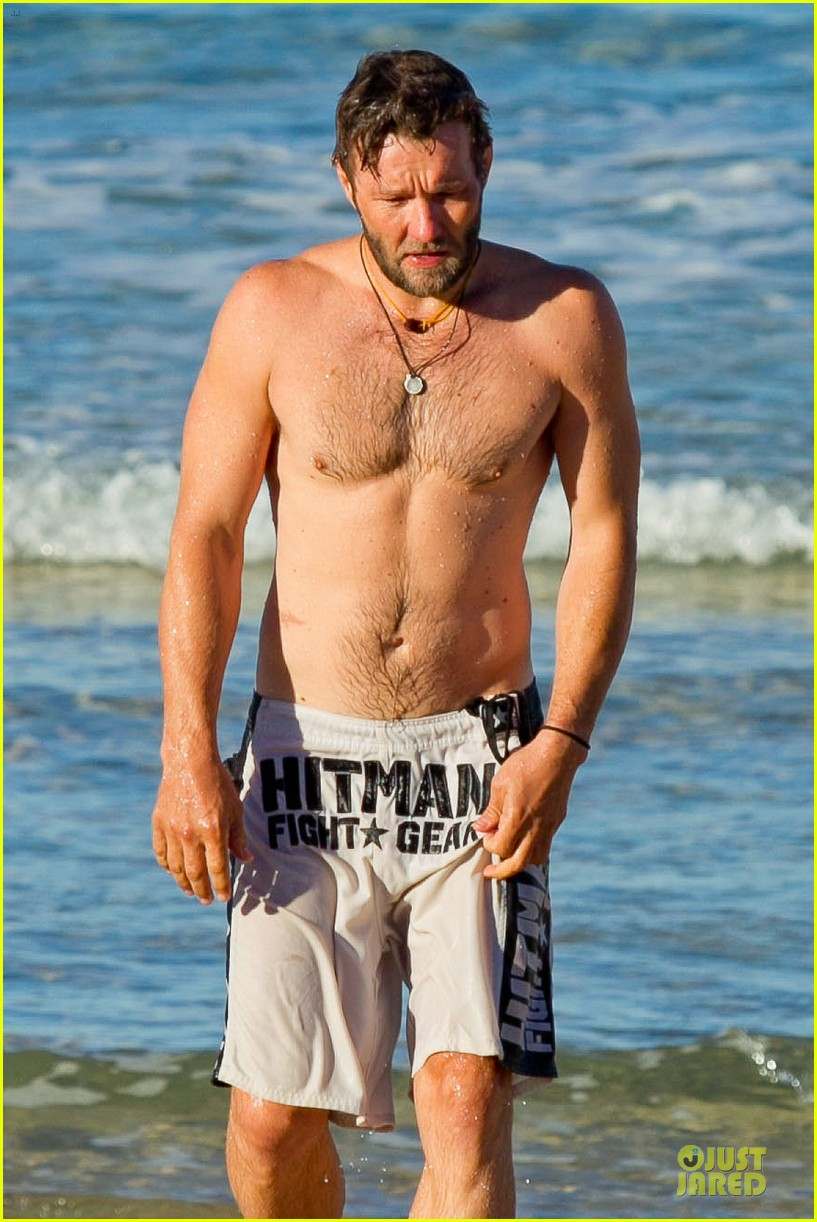 joel edgerton shirtless hitman after exodus news 022929824