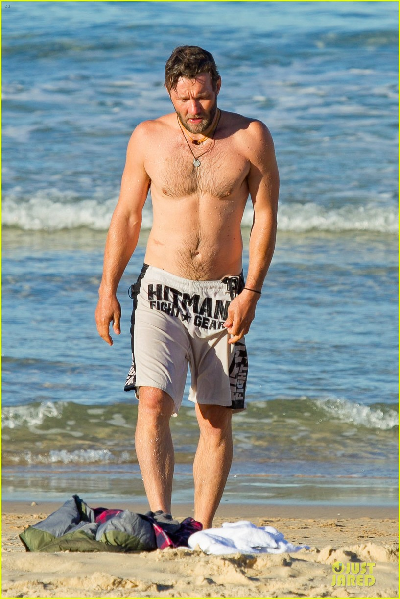joel edgerton shirtless hitman after exodus news 062929828