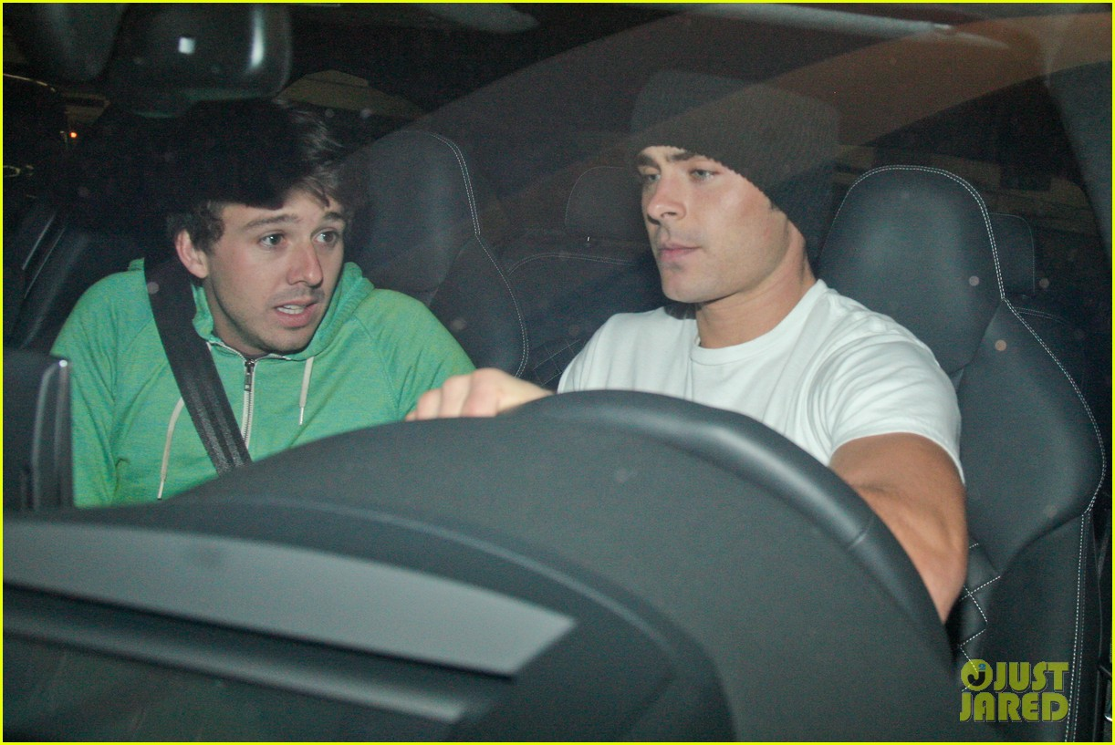 zac efron goes to the movies with a friend 17