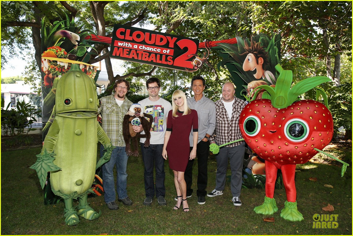 anna faris cloudy with a chance of meatballs 2 press event 032925080