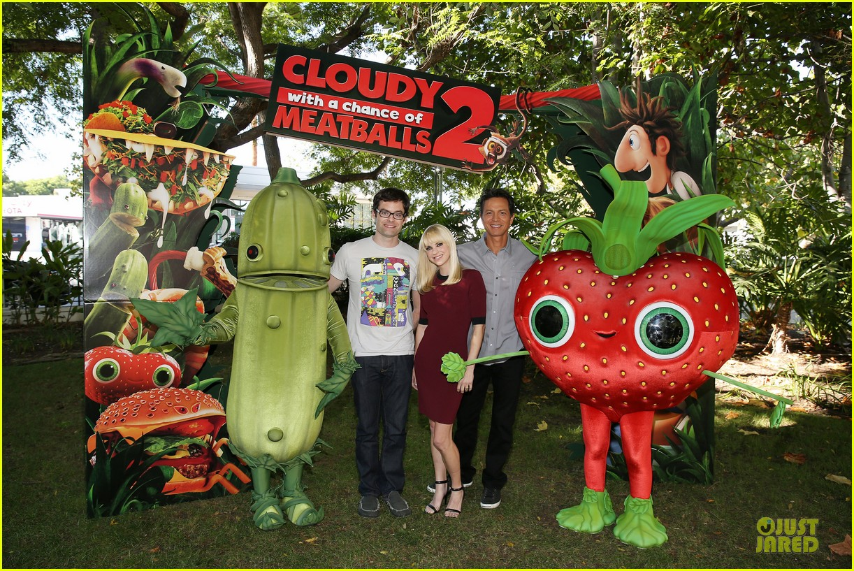 anna faris cloudy with a chance of meatballs 2 press event 052925082