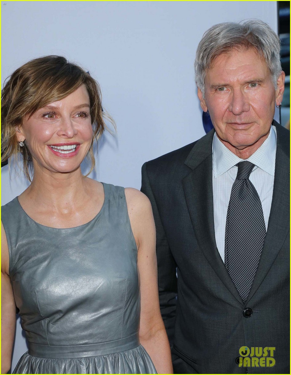 harrison ford paranoia premiere with calista flockhart 042926424