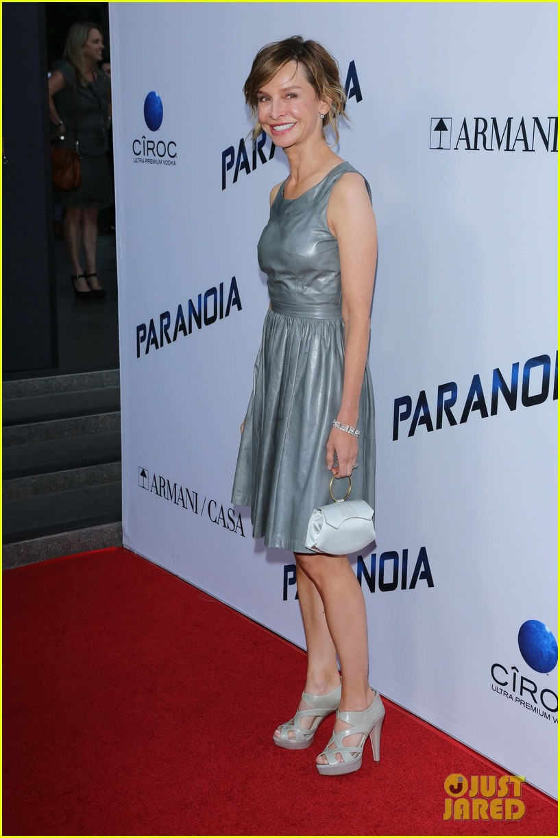 harrison ford paranoia premiere with calista flockhart 052926425