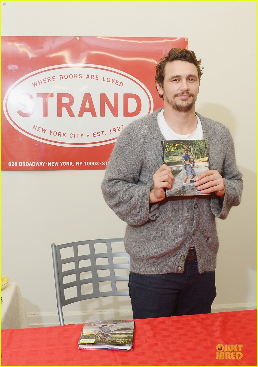 james franco a california childhood book signing 092926974