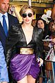 lady gaga visits z100 studios after applause premiere 18