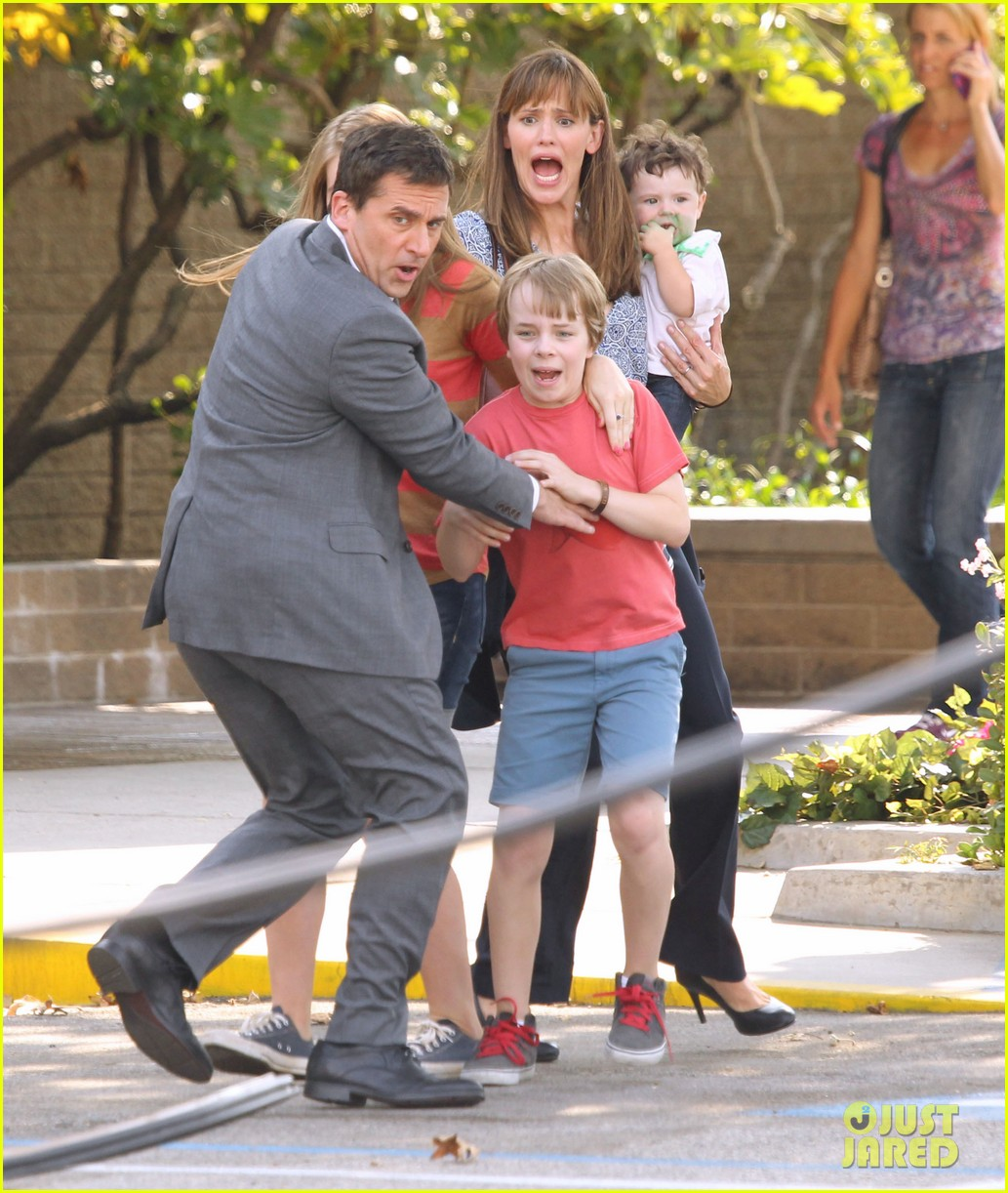 jennifer garner steve carell family freakout for alexander 21
