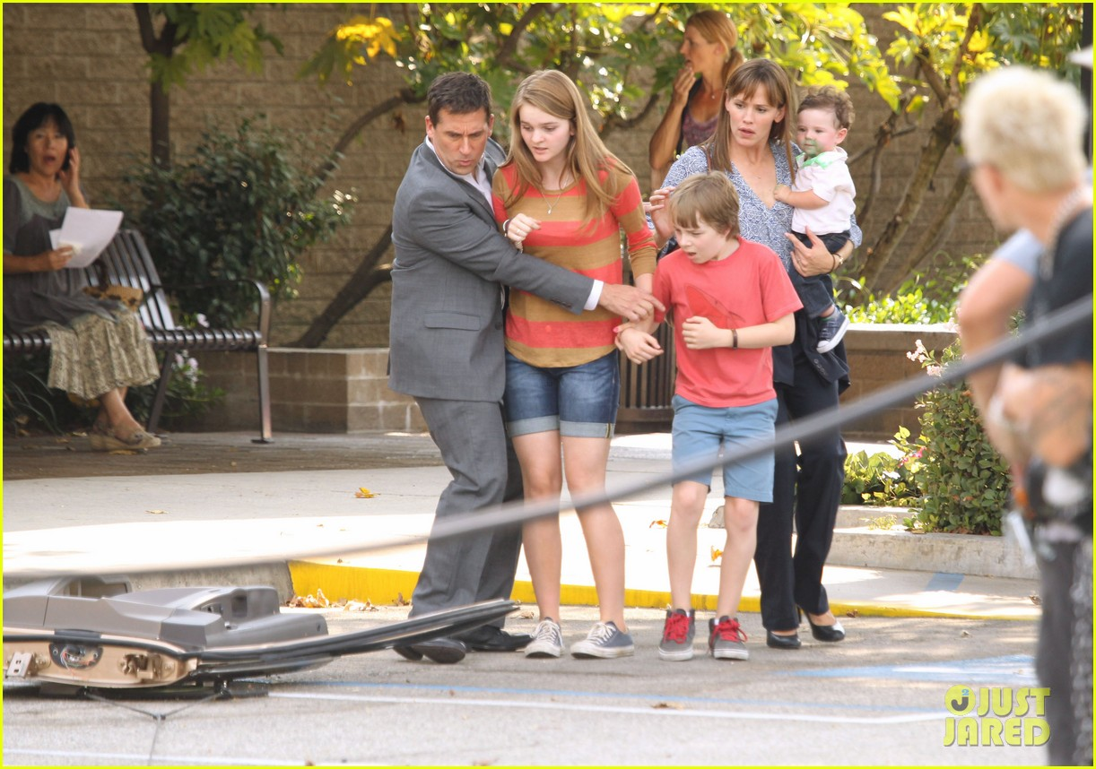 jennifer garner steve carell family freakout for alexander 232938761